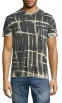 True Religion Tie Dye Abstract Print Tee