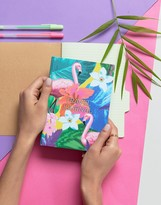 Paperchase Flamingo Travel Planner