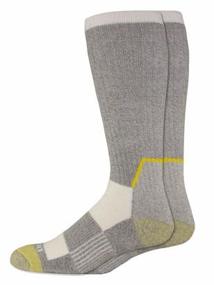 Dickies Men's Kevlar Reinforced Steel Toe Crew Socks