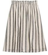 Bobeau Florence Aline Chambray Skirt.