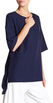 DKNY Elbow Sleeve Oversized Tunic