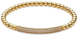 Adriana Orsini 18K Yellow Goldplated Sterling Silver Pave Bar Bracelet