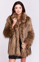 MUMU Ivanka Jacket ~ Bear Hug Faux Fur