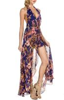 ShopGoldies Floral-Glam Maxi Romper