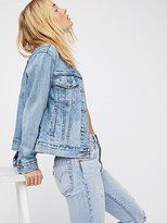 Levi's Ex-Boyfriend Trucker Denim Jacket by at Free People