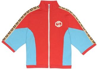 Gucci Kids Cotton track jacket