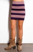 Two Tone 8 Band Skirt