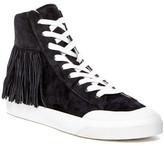 Loeffler Randall Delaney Fringe Hi-Top Sneaker