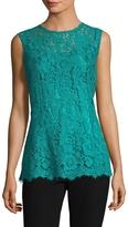 Dolce & Gabbana Women's Lace Sleeveless Blouse