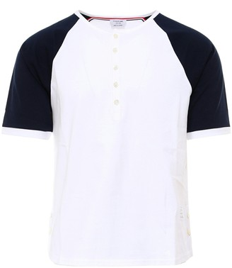 Thom Browne Contrast Sleeve T-Shirt
