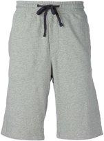 James Perse marled track shorts