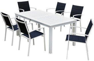16 Elliot Way Skyline Outdoor Rectangle Table Dining Set