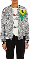 Mira Mikati Women's Sequined Bomber Jacket