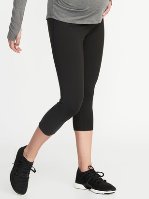 Old Navy Maternity Full-Panel Elevate Compression Crops