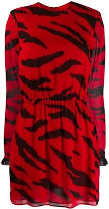 Philosophy di Lorenzo Serafini Short Printed Dress