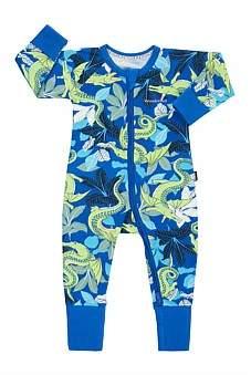 Bonds Zip Ydg Wondersuit - Crocodragon Blue(Nb-2Y)