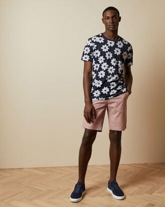 Ted Baker Cotton Semi Plain Shorts