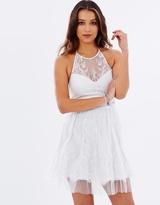 Lipsy AG Lace Prom Dress