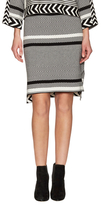 Tess Giberson Remixed Jacquard Skirt