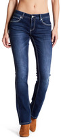 Jag Jeans Bianca Embroiderd & Topsticthed Bootcut Leg Pants