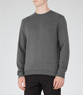 Reiss Stargate Quilted Sweatshirt