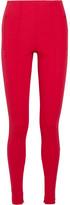 Balenciaga Stretch-jersey Leggings - Red