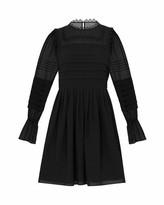 Ted Baker Elegant Volume Sleeve Skater Dress