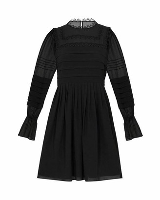 Ted Baker Elegant Volume Sleeve Skater Dress
