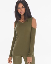 Soma Intimates Cold Shoulder Long Sleeve Top
