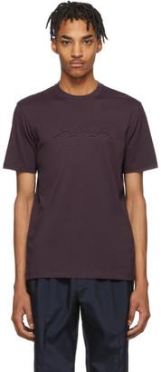 Ermenegildo Zegna Purple XXX T-Shirt