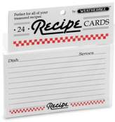Bed Bath & Beyond 3-Inch x 5-Inch 24-Pack Recipe Cards