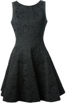 Tibi lace a-line dress