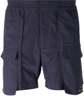 Var/City - side pocket track shorts - men - Cotton/Polyimide - 48