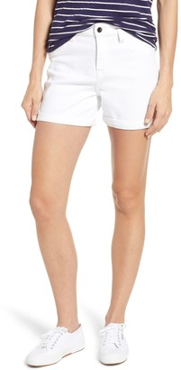 Jen7 By 7 For All Mankind Roll Up Mid Short