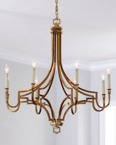 Visual Comfort Large Mykonos 8-Light Chandelier