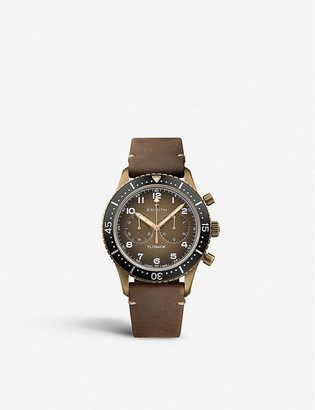 Zenith 29.2240.405/18.C801 Pilot Cronometro Tipo CP-2 Flyback bronze and leather watch