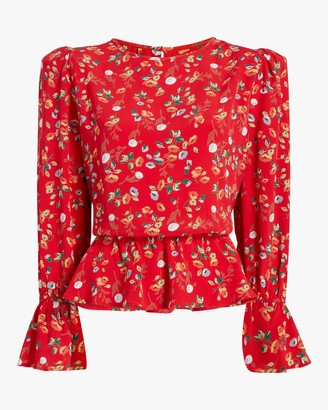 By Ti Mo Bytimo Flounce Blouse