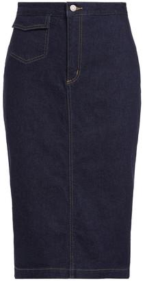 Polo Ralph Lauren Denim Pencil Skirt Navy