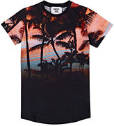 Someday Soon Sunset-Print Cotton Jersey T-Shirt
