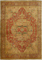 "Horchow Exquisite Rugs Tribute Medallion Runner, 2'6"" x 12'"