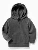 Old Navy French-Rib 1/4-Zip Hoodie for Toddler Boys