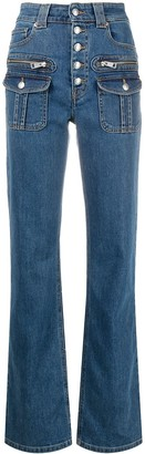Zadig & Voltaire Eyes high-rise straight jeans