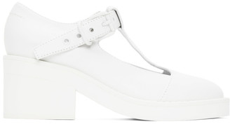 MM6 MAISON MARGIELA White Mary Jane Oxfords