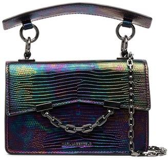 Karl Lagerfeld Paris K Seven iridescent mini shoulder bag