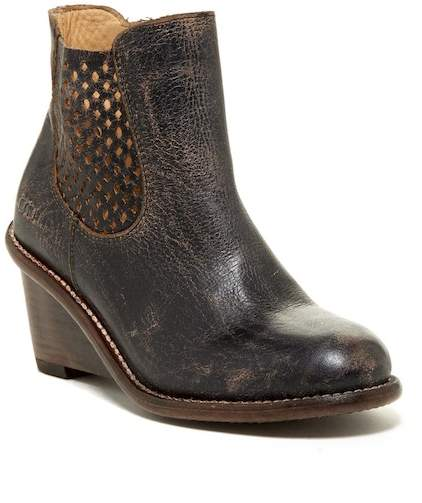 Bed Stu Bed|Stu Countess Leather Wedge Bootie
