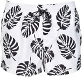 Dolce & Gabbana Palm Print Swim Shorts