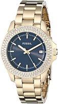 Fossil Women's Retro Traveler AM4520 Stainless-Steel Quartz Watch