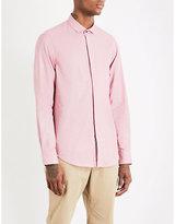 Armani Collezioni Tonal Cotton Shirt
