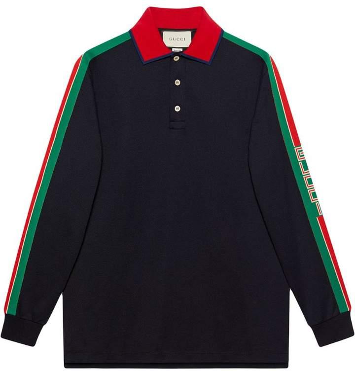 21662e84870c Gucci Black Men s Polos - ShopStyle