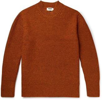 YMC Kingsdown Ribbed Shetland Wool Sweater - Men - Orange